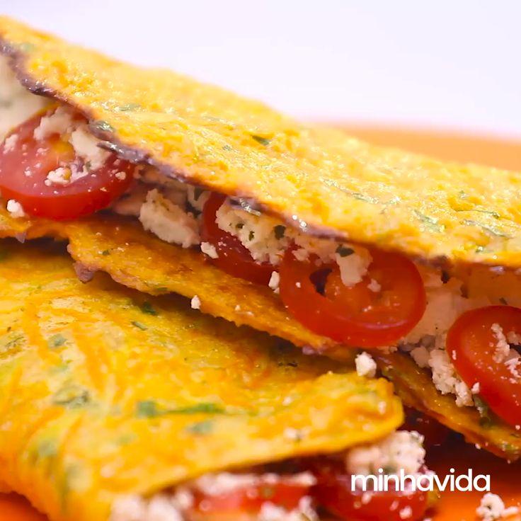 Tacos de cenoura   – Não é dieta, é estilo de vida