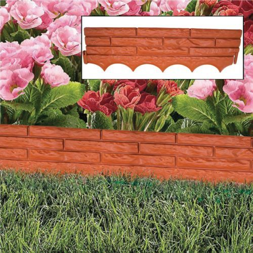 1000 ideas about grass edging on pinterest rock border for Grasses for flower beds