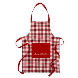 Make sure your prepared when cooking Christmas dinner and use our festive apron to stay out of any mess! One Size.