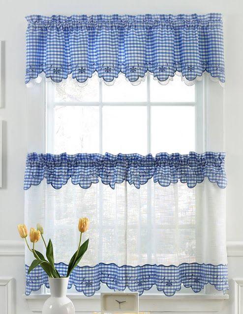 17 mejores ideas sobre cortinas de ventana de cocina en pinterest ...