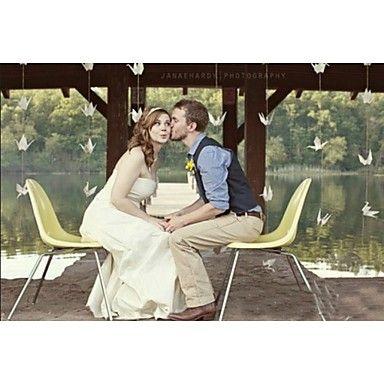 Papel Cartão Decorações do casamento-50Peça/Conjunto Primavera / Verão / Outono / Inverno Não Personalizado de 4584115 2016 por R$30,39