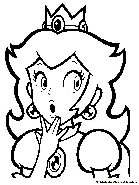 fireball mario coloring pages - photo#19