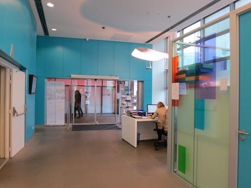 One Of The Lobbies IESEG School Management Paris Campus