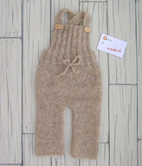 Unisex Romper Newborn props handmade wooden baby bebè