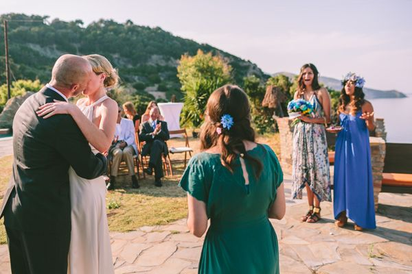 This gorgeous outdoor blue and white wedding included details in shades of soft purple and the wedding theme was country with a greek flair. Stunning! Captured by George Pahountis See more here http://www.love4wed.com/outdoor-blue-white-wedding/ #outdoorwedding #blueandwhitewedding #WeddingsinGreece #destinationweddingsinGreece #georgepahountis #blueroses #blue&lavenderwedding