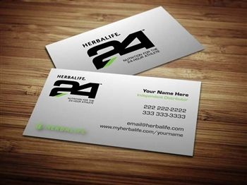Herbalife business cards and templates designs from tankprints.com