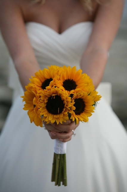 Sunflower – Sunflowers are the symbol of loyalty and trust. Sunflower arrangements and bouquets are full of energy and happiness. They are perfect for rustic and colorful weddings. A sunflower wedding bouquet means trust and steadiness. It's a chic and original choice.  - See more at: http://www.merledress.com/blog/8-most-popular-wedding-flowers-and-their-meanings.html#sthash.GUuN5qJt.dpuf
