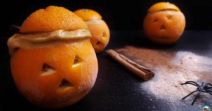 Helado de calabaza asada y naranja