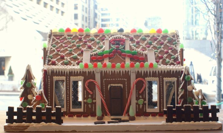 Renowned interior designer and architect Jill Kantelberg combines her knowledge and wealth of experience to create a delicate gingerbread home, interpeted and brought to life by the pastry chefs at Toronto's Four Seasons Hotel. Go to http://www.cafdn.org/gingerbread