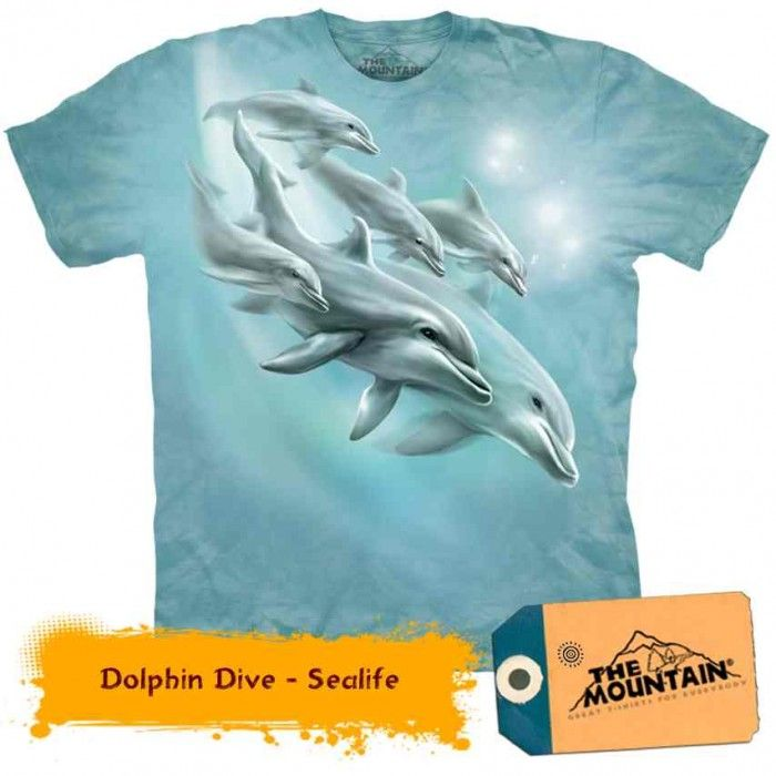 Tricouri The Mountain – Tricou Dolphin Dive