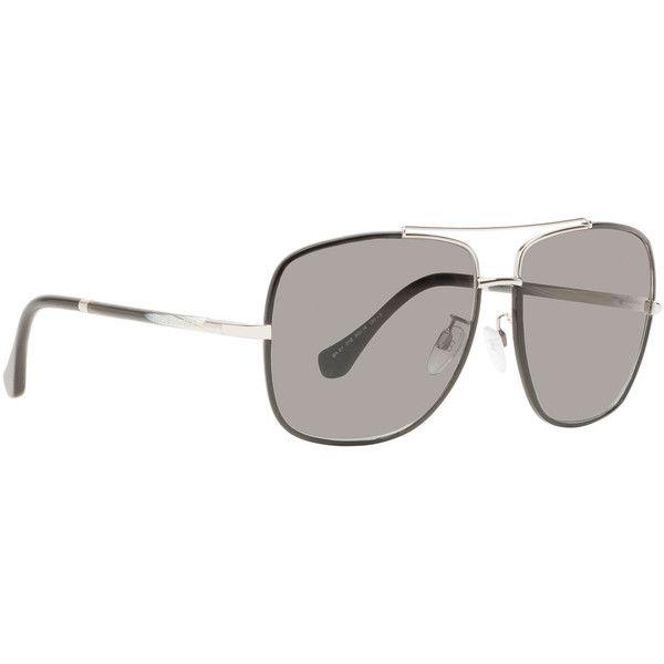 Balenciaga Sunglasses ($330) ❤ liked on Polyvore featuring accessories, eyewear, sunglasses, smoke silver, balenciaga sunglasses, balenciaga glasses, logo sunglasses, sporty sunglasses and gradient lens sunglasses