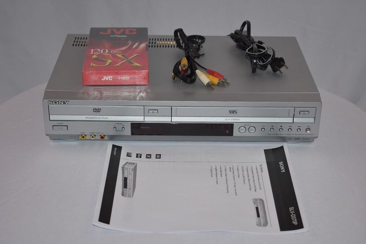 Sony SLV-D370P DVD VCR Player Combo VHS Recorder No Remote - Tested & Working  #Sony