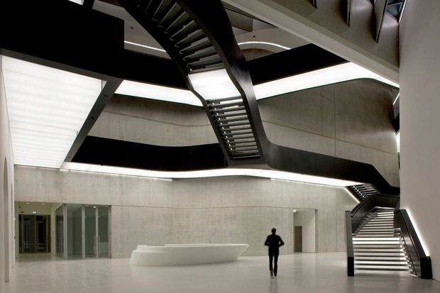 Maxxi National Museum Of 21st Century Arts, Via Guido Reni, Rome. Photo / Getty Images