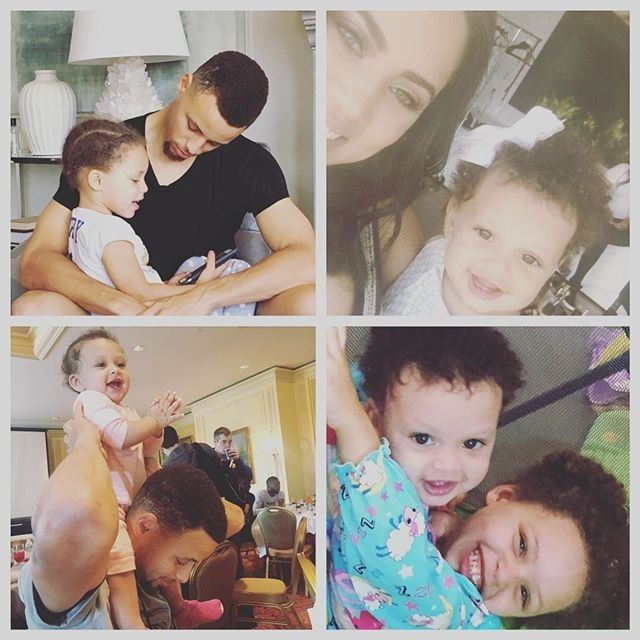 Stephen Curry - Family