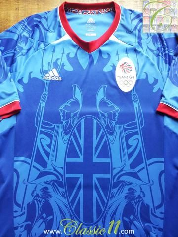 Relive Great Britain's 2012 London Olympics with this original Adidas home football shirt.