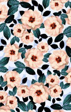Bridesmaids Fabric Swatch ~ Steel Magnolia