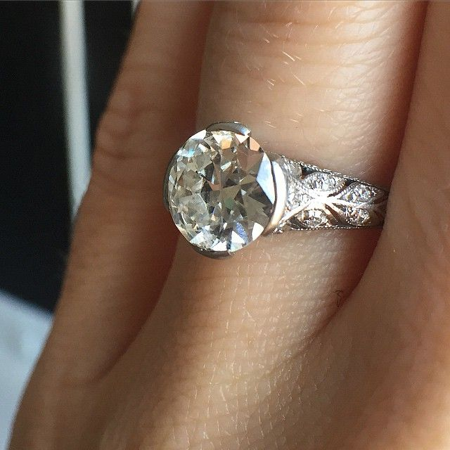 This Over 100 Year Old Tiffany Co Ring Features A Stunning Old