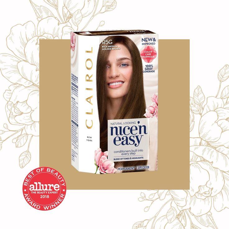 Clairol Nice'n Easy Permanent Hair Color Crème 4 Dark