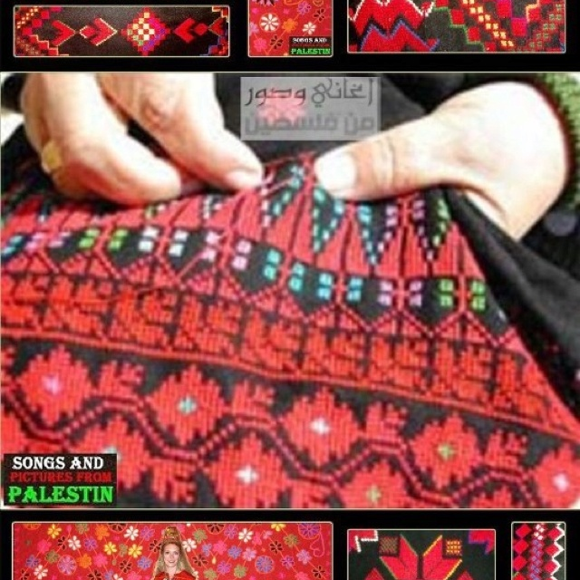 Palestinian embroideryHandmade Heavens, Palestinian Culture, Crosses Stitches, Bedouin Embroidery, Heavens Things, Palestinian Embroidery