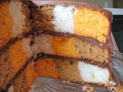 Checkboard Cake From A Cake Mix