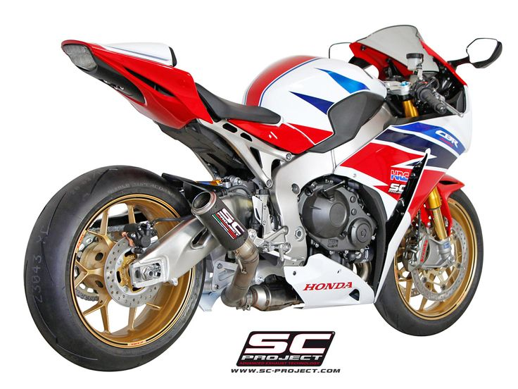 HONDA CBR 1000RR /SP '14-16 EXHAUST BY SC-PROJECT