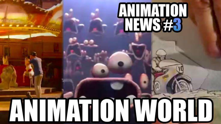 Animation News (Sept, 2015)  Airbnb's Animated Advert | Aardman Nathan Love | Honda's Animated Advert