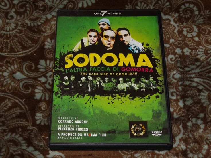 Sodoma... L'Altra Faccia di Gomorra (DVD, 2015) One 7 Italian Horror/Dark Side!