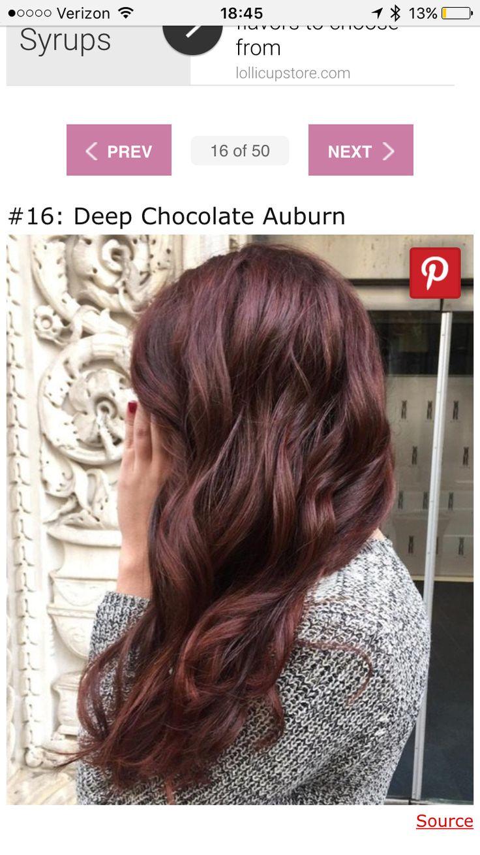 Les 25 meilleures id es concernant reflets acajou sur pinterest cheveux brun acajou cheveux - Couleur auburn acajou ...