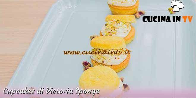 Cupcakes di Victoria Sponge ricetta Ilaria da Bake Off Italia 3 | Cucina in tv
