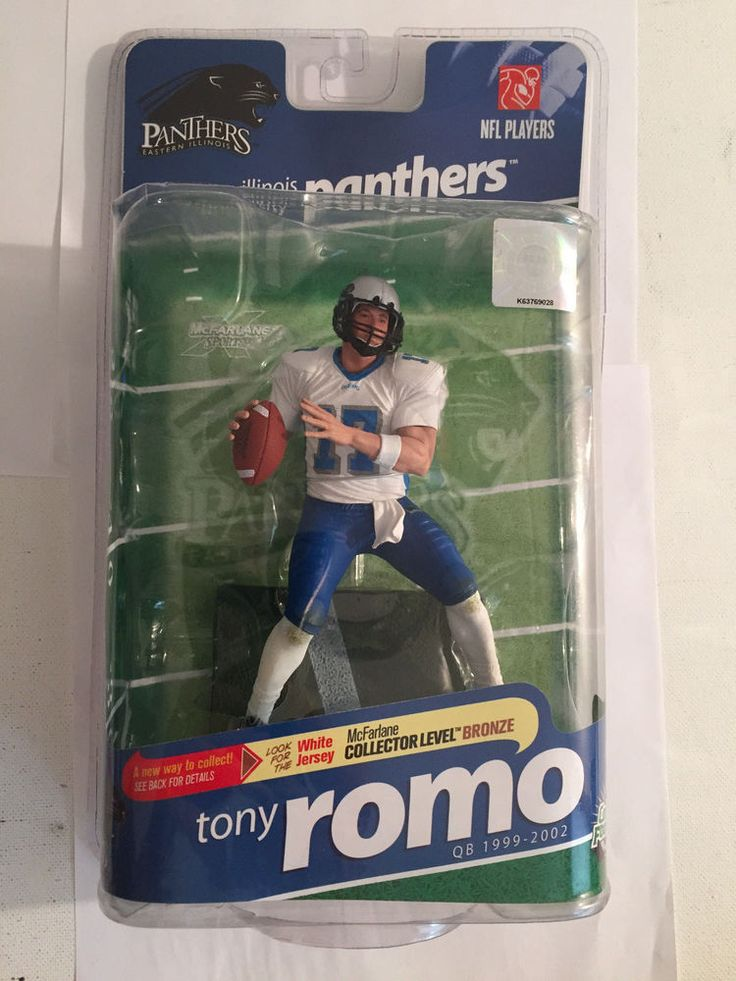College Football NFL PLayers Tony Romo White Jersey Chase Variant 681/3000 #McFarlaneToys