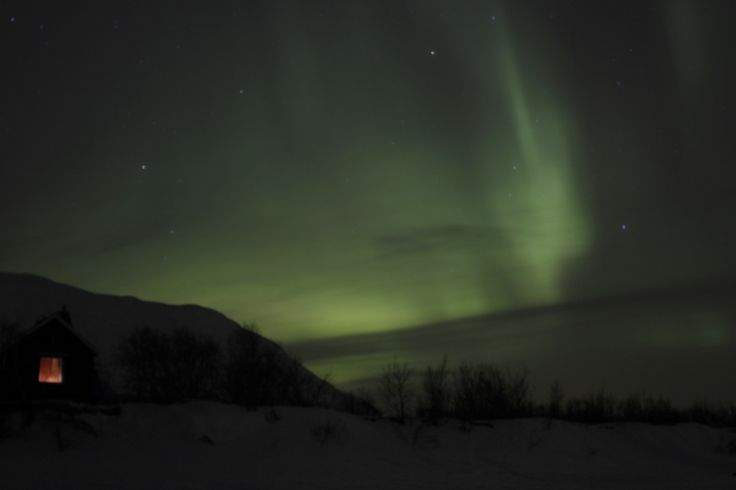 L'Aurora Boreale - The Northern Lights (Maria De Paolis, Abisko)