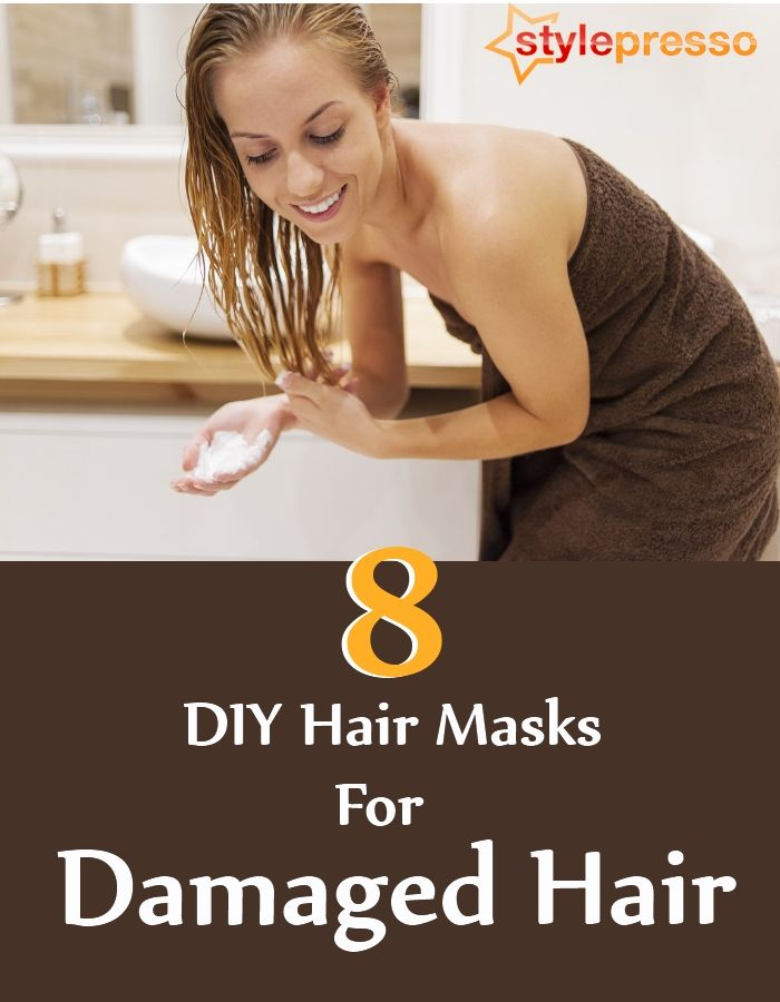 8 DIY Hair Masks For Damaged Hair