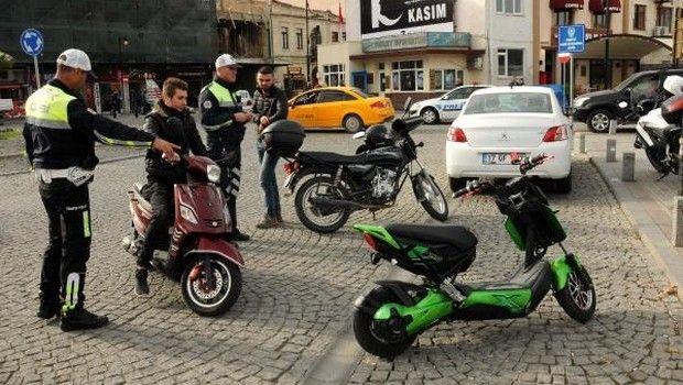 Elektrikli bisikletlere ceza yağdı..