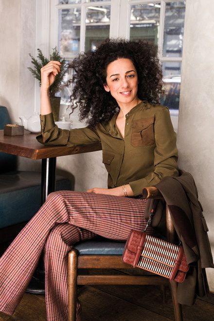 Meet the Iconoclast Inspiring Iranian Women to Remove Their Headscarves --  Masih Alinejad My Stealthy Freedom on Facebook