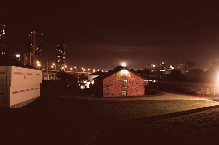 Photograph during Nuit Blanche 2014- Fort York