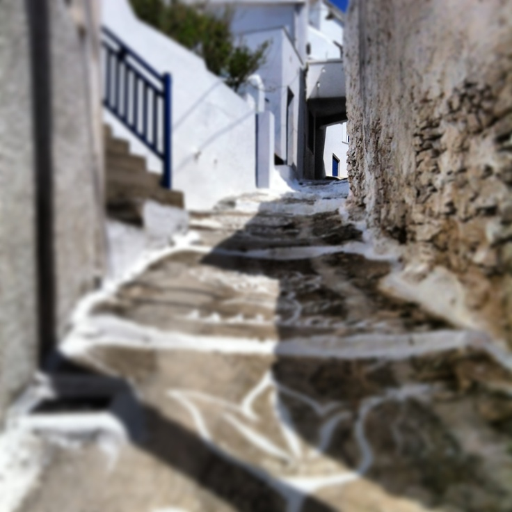 Paths of Kythnos-Chora  http://www.cycladia.com/travel-guides-greece/kythnos-guide-tips/  #kythnos #travel #greece #greekislands
