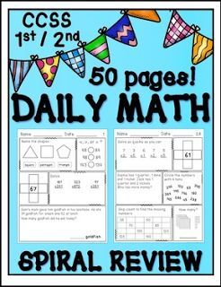 "FREE MATH LESSON - ""FREEBIE CCSS Aligned Math Morning / ""Do Now"" Work"" - Go to The Best of Teacher Entrepreneurs for this and hundreds of free lessons. 1st - 3rd Grade    #FreeLesson    #Math    www.thebestofteac..."