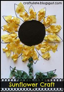 Craftulate: Sunflower Craft