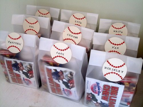 Baseball Goodie Bag Ideas