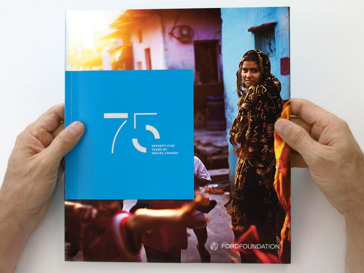 Hyperakt — Work — Ford Foundation — 2010 Annual Report #graphicdesign #nonprofitdesign
