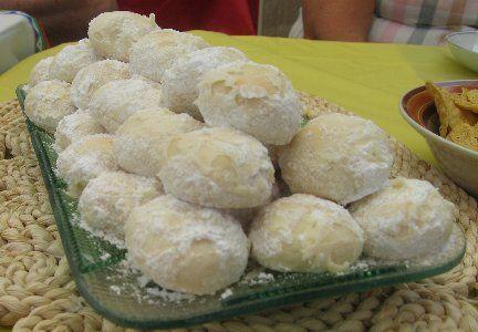 Russian Tea Cake Cookies - Swedish Tea Cakes - Mexican Wedding Cookies