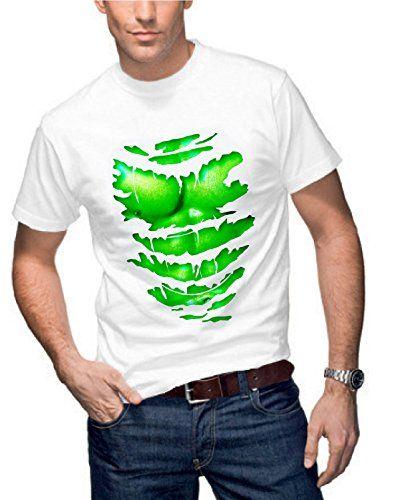 Hombre 'Hulk Style grabados muscular camiseta #camiseta #friki #moda #regalo