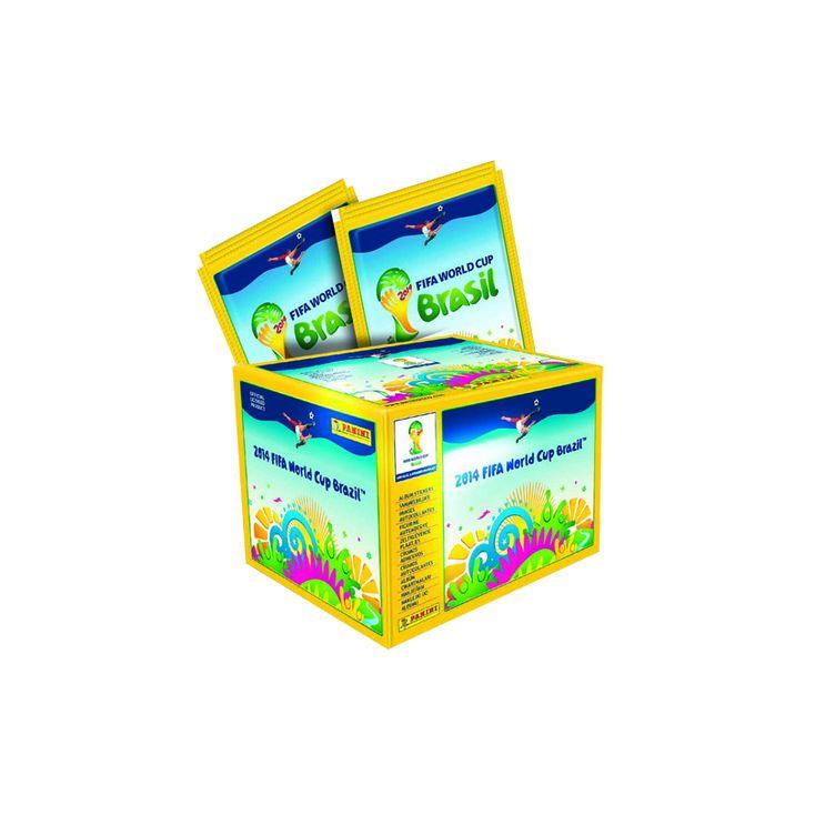 2014 World Cup Sticker Box