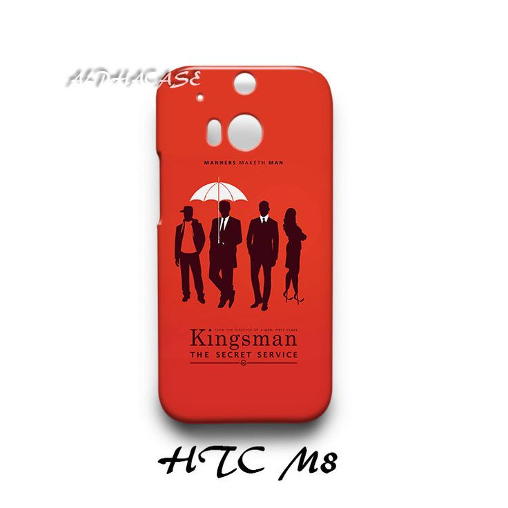 Kingsman The Secret Service HTC M8 Hardshell Case