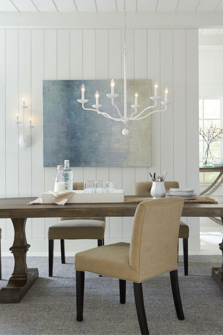 Oa oak dining room table phoenix - Annie 6 Light Chandelier By Feiss Simple And Chic With A Warm Welcoming