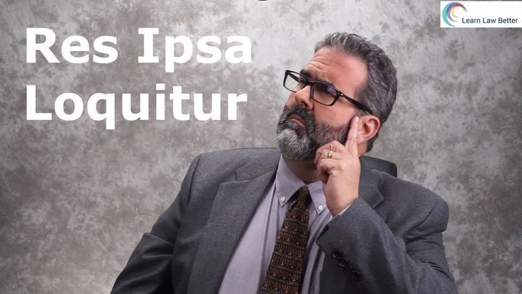 Res Ipsa Loquitur can be confusing, but it doesn't have to be. Learn how to use on an exam the three part test that courts use in determining whether Res Ipsa Loquitur can be used at trial. For more episodes to help you succeed in law school, check out https://youtube.com/LearnLawBetter and https://facebook.com/LearnLawBetter