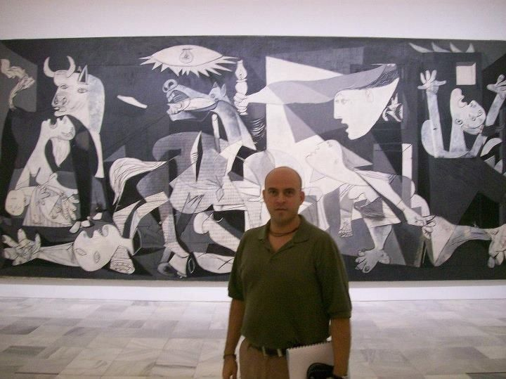 Where is Picasso's painting of the dog?