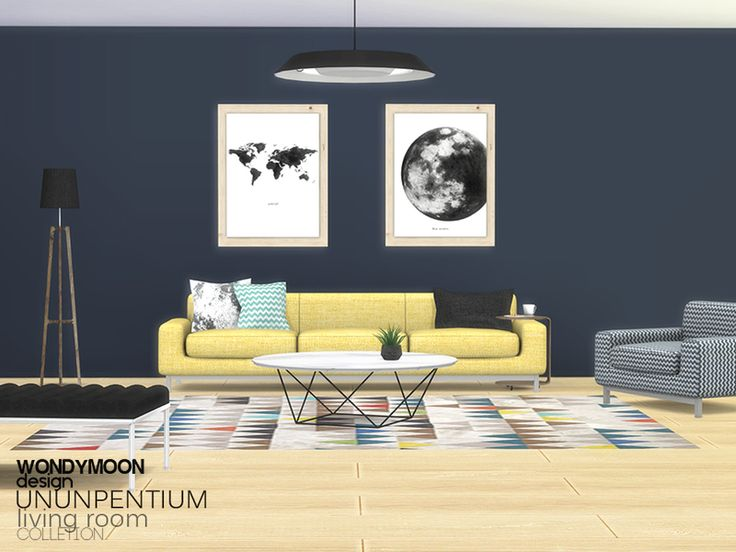 Ununpentium Living Room   I Found In TSR Category U0027Sims 4 Living Room Sets