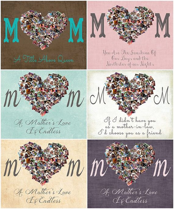 Personalized christmas presents for mom – Great choice of photo ...