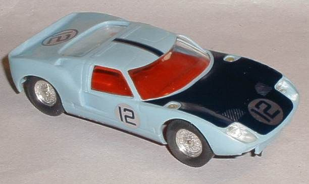 Vintage Scalextric car C77 Ford GT40 for sale